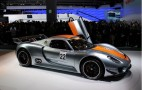 2011 Detroit Auto Show: Porsche 918 RSR Live Photos