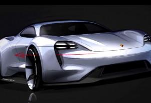 Porsche Mission E Design