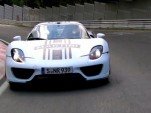 Porsche's 918 Spyder on the 'Ring