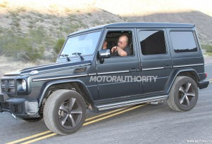 Possible Mercedes-Benz G63 AMG spy shots