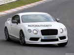 Potential Bentley Continental GT3 road car spy shots
