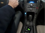 Powermat wireless charge pad in Chevrolet Volt