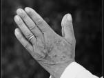 Praying hands. Image: Jan Smith