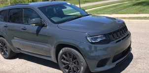 Pre-production 2018 Jeep Grand Cherokee Trackhawk