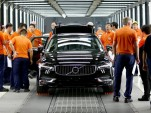 Pre-production of Volvo S90 at plant in Daqing, China