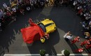 Presentation of special Ferrari 599XX Evo to Google executive Benjamin Sloss