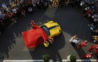 Google Exec Presented With Special Ferrari 599XX Evo At Monza