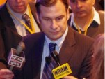 Press impressed:  Farley answers traditional media's questions