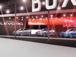 Preview of Subaru stand at the 2014 Tokyo Auto Salon
