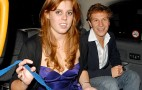 Princess Beatrice's BMW Bashed In Britain