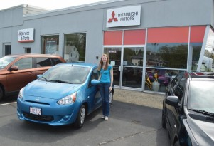 Why One Young Woman Bought A 2014 Mitsubishi Mirage: Frugal Shopping