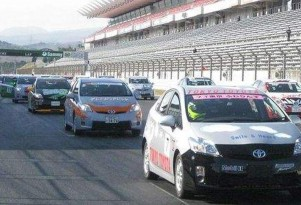 Prius Cup Takes To Formula 1 Track For High-MPG Racing