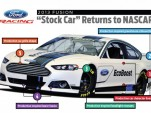 Production-inspired trim on the 2013 NASCAR Fusion