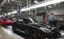 Production line at Chryslers Conner Avenue Assembly plant