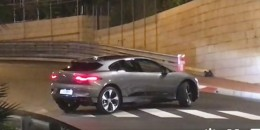 Video shoot shows Jaguar I-Pace electric SUV in production form
