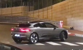 Production-ready Jaguar I-Pace spotted in Monaco