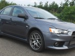 Production-ready Mitsubishi Evo X caught in the wild