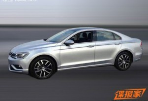 Production Volkswagen New Midsize Coupe leaked (Image via Autohome)