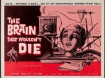 Promotional poster for 'The Brain That Wouldn't Die' (1962)