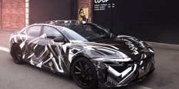 Prototype for Lucid electric car due in 2018