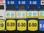 Pump with multiple ethanol/gasoline blends.