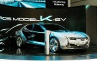 Qoros K-EV concept previews Tesla Model S rival due in 2019