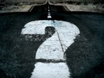 question mark on road: image via Flickr/ milos milosevic