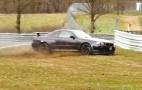 R34 Nissan Skyline GT-R crashes at the Nürburgring