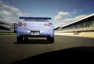 R34 Nissan Skyline GT-R in Gran Turismo 15th anniversary teaser video