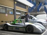 Racing Green Endurance electric car, powertrain engineer Aran Kankiwala