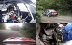 Rally Car Test In Quadvision Melts Your Brain: Video