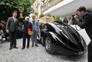 Ralph Lauren and his 1938 Bugatti 57SC Atlantic