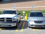 Ram 1500 Plug-In Hybrid pickup truck and Chrysler Town & Country plug-in hybrid minivan, April 2012