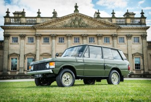 Range Rover chassis #001 (Silverstone Auctions)