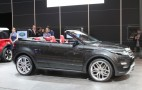 Range Rover Evoque Convertible Live Photos: 2012 Geneva Motor Show