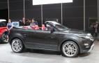 Range Rover Evoque Convertible Live Photos: 2012 Geneva Motor Show