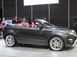 Range Rover Evoque Convertible Concept live photos