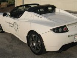 RAR White Tesla Roadster