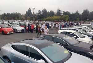 New Guinness World Record: 507 Electric Cars In One Place