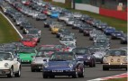 Record Gathering Of Porsche 911s Hit Silverstone: Video