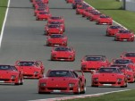 Record gathering of 60 Ferrari F40s attend 2012 Silverstone Classic