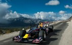 Red Bull F1 Car Drives The World's Highest Road