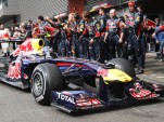 Red Bull Racing at the 2011 Formula 1 Belgian GP