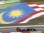 Red Bull Racing at the Formula One Malaysian Grand Prix