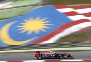 Red Bull Racing at the Formula One Malaysian Grand Prix
