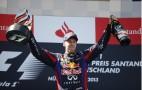 Sebastian Vettel Wins His First Formula One German Grand Prix