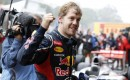 Red Bull Racings Sebastian Vettel scores his third F1 World Championship in a row in Brazil