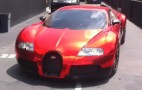 Red Chrome Bugatti Veyron Wrap: Why, Dartz, Why?