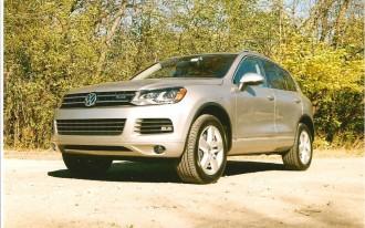 2011 VW Touareg:  Upward Mobility Weighs Less