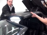 Removing the roof of a Pagani Zonda 760 Roadster